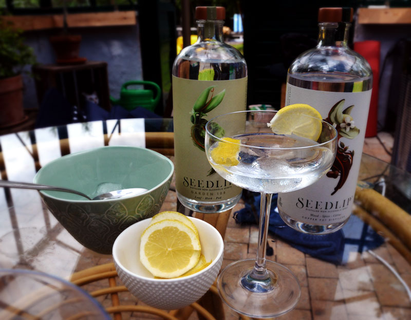 Seedlip-världens första alkoholfria sprit.