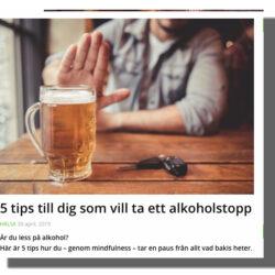 alkoholstopp