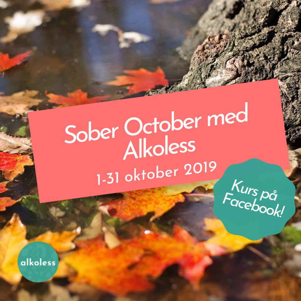 Sober October