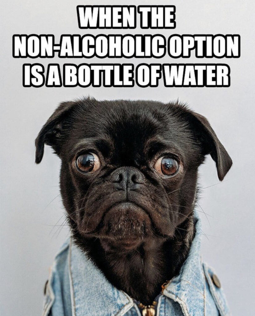 inte vill dricka