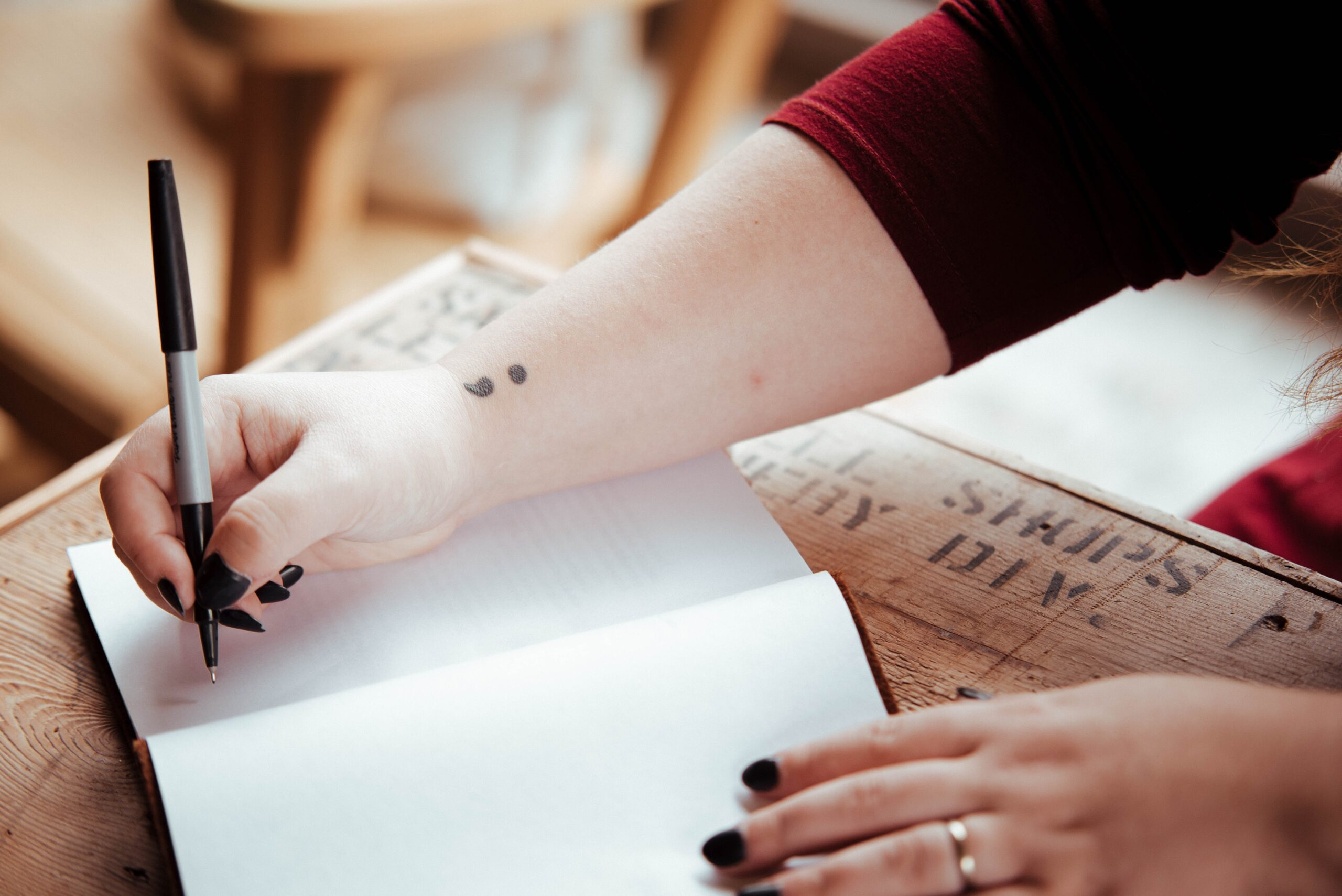 helande skrivande